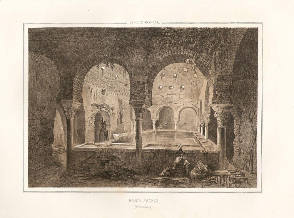 Baño Arabe En Almeria:Baños árabes en Granada