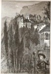 Generalife from the Alhambra (Medium)