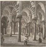 Harry Fenn interior de la mezquita de Cordoba