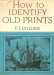 Identify old prints book