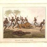 tribus-africanas-cazando-leon