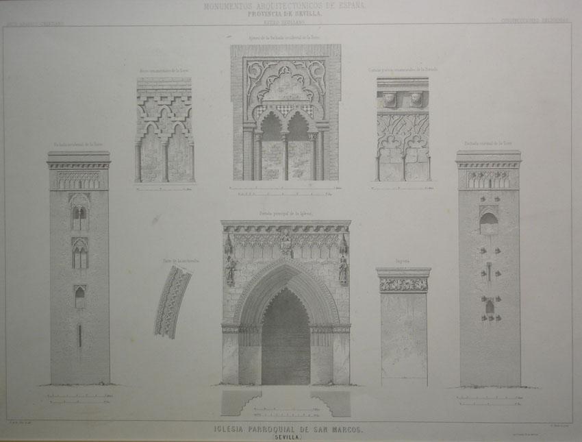 Arquitectura architecture grabados laurence shand - Arquitectura sevilla ...